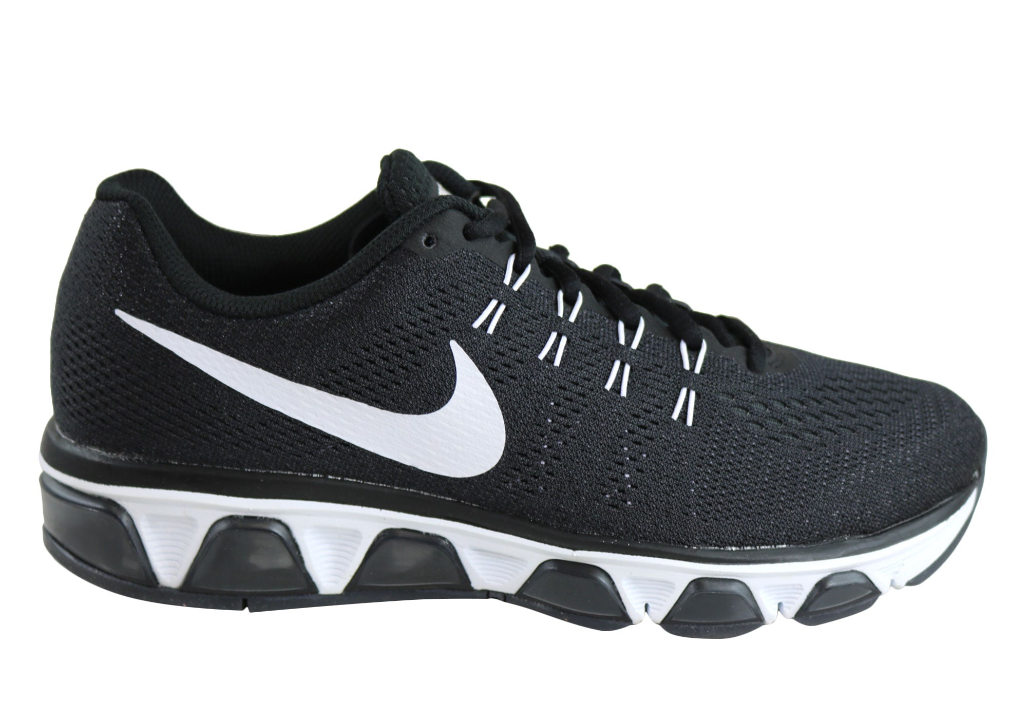 f09d0d6df57a5 Home Nike Womens Air Max Tailwind 8 Running Sport Shoes. Black  ...