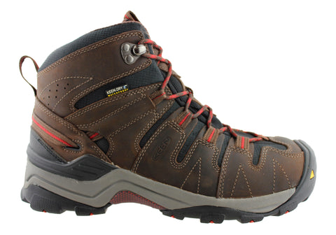 Keen Gypsum Mid Mens Waterproof Wide Fit Hiking Boots