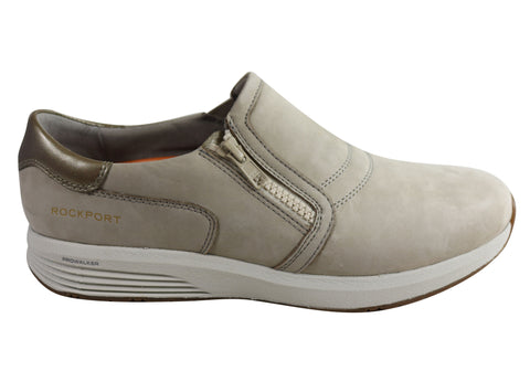 Rockport Trustride Slip On Womens Leather Wide Fit Comfort Shoes