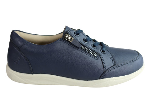 Homyped Tess Womens Supportive Comfortable Leather Casuals