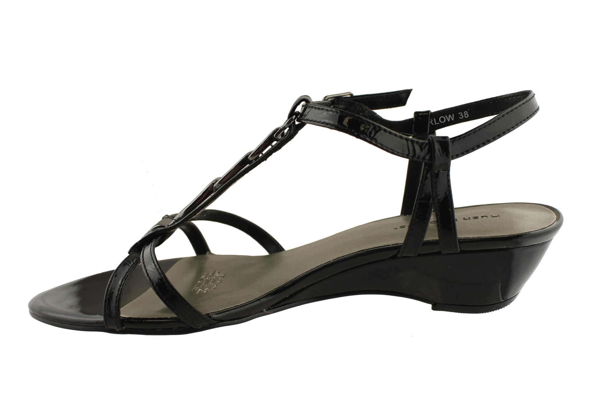 Hush Puppies Harlow Womens Strappy Leather Sandals