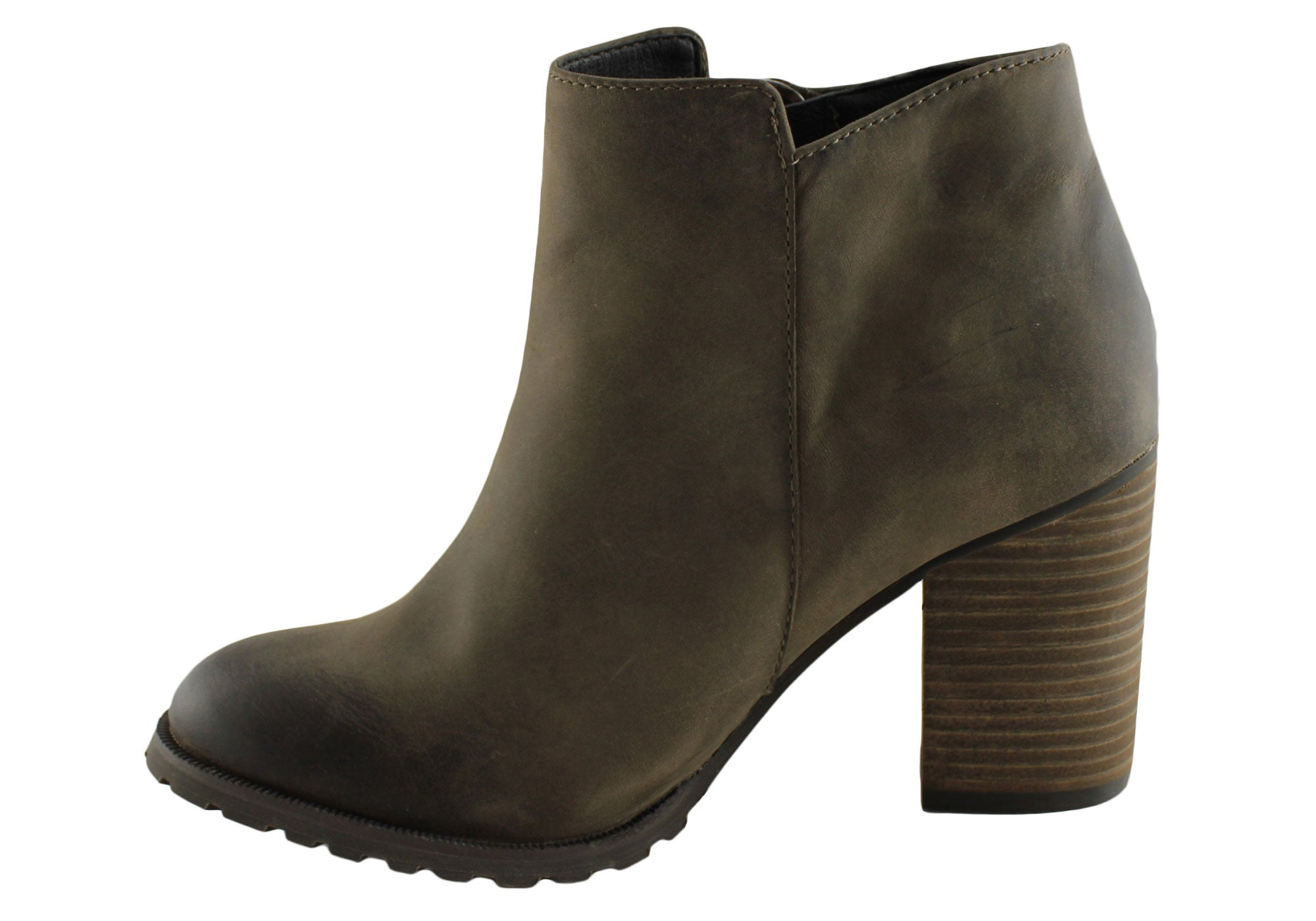 RMK Womens Lucetta Fashion Leather Ankle Boots