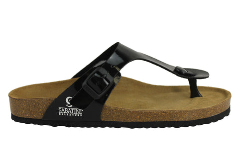 Sabatini 961D Womens Comfort Sandals Made In Italy
