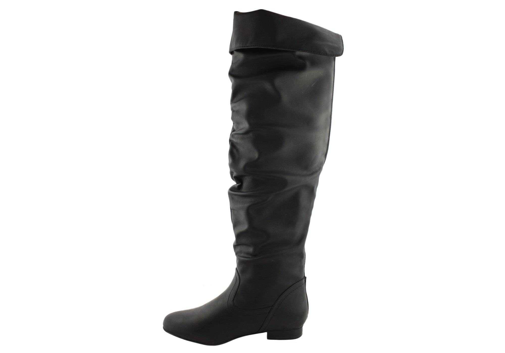 Isabella Brown Race Womens Knee High Boots