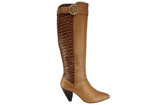 Hush Puppies Ursula Womens Leather Boots Made In Brazil
