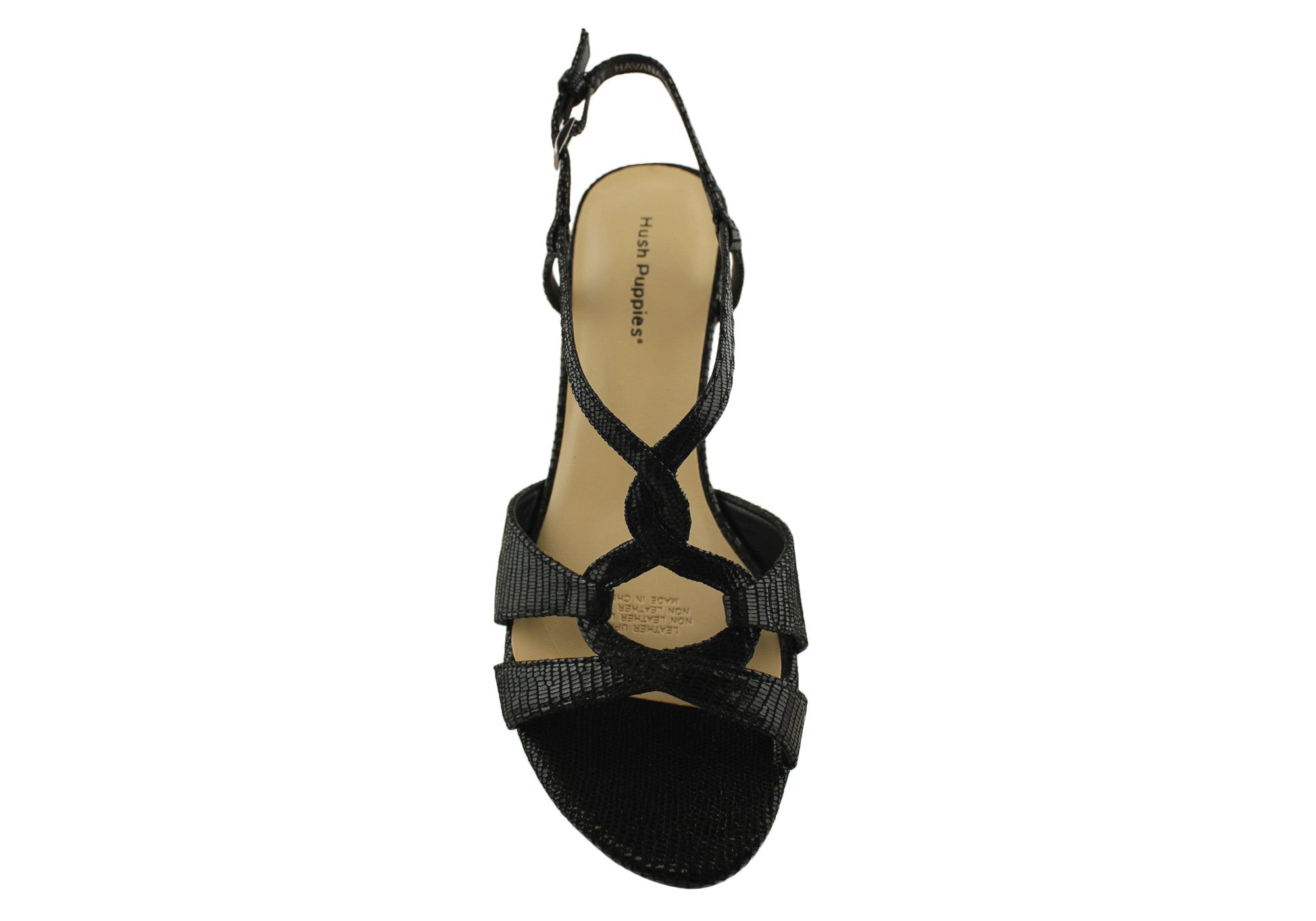Hush Puppies Havana Womens Strappy Leather Sandals