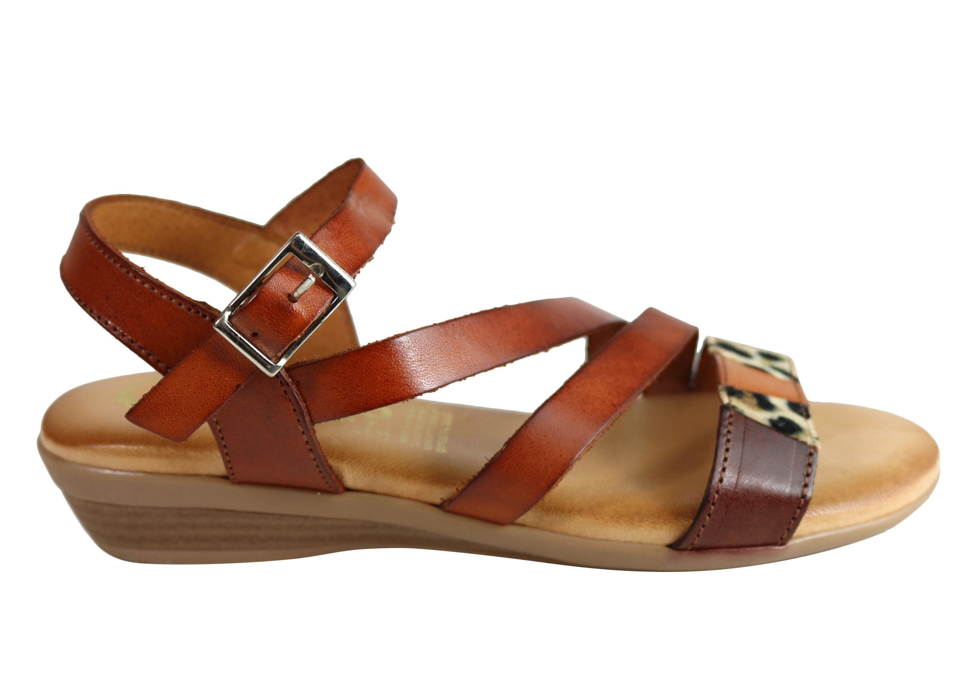 fcc001def00 Cabello Comfort 718 Womens Comfortable Leather Sandals Made In Spain ...