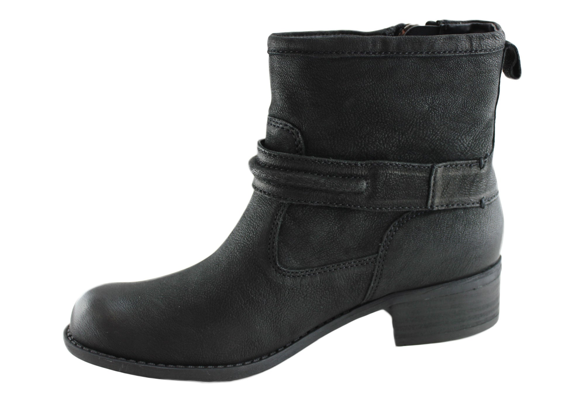 RMK Glastonbury Womens Leather Ankle Boots