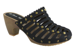 Donna Velenta Nicky Womens Fashion Clogs