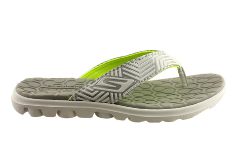 Skechers Womens On The Go Sunny Summer Thongs