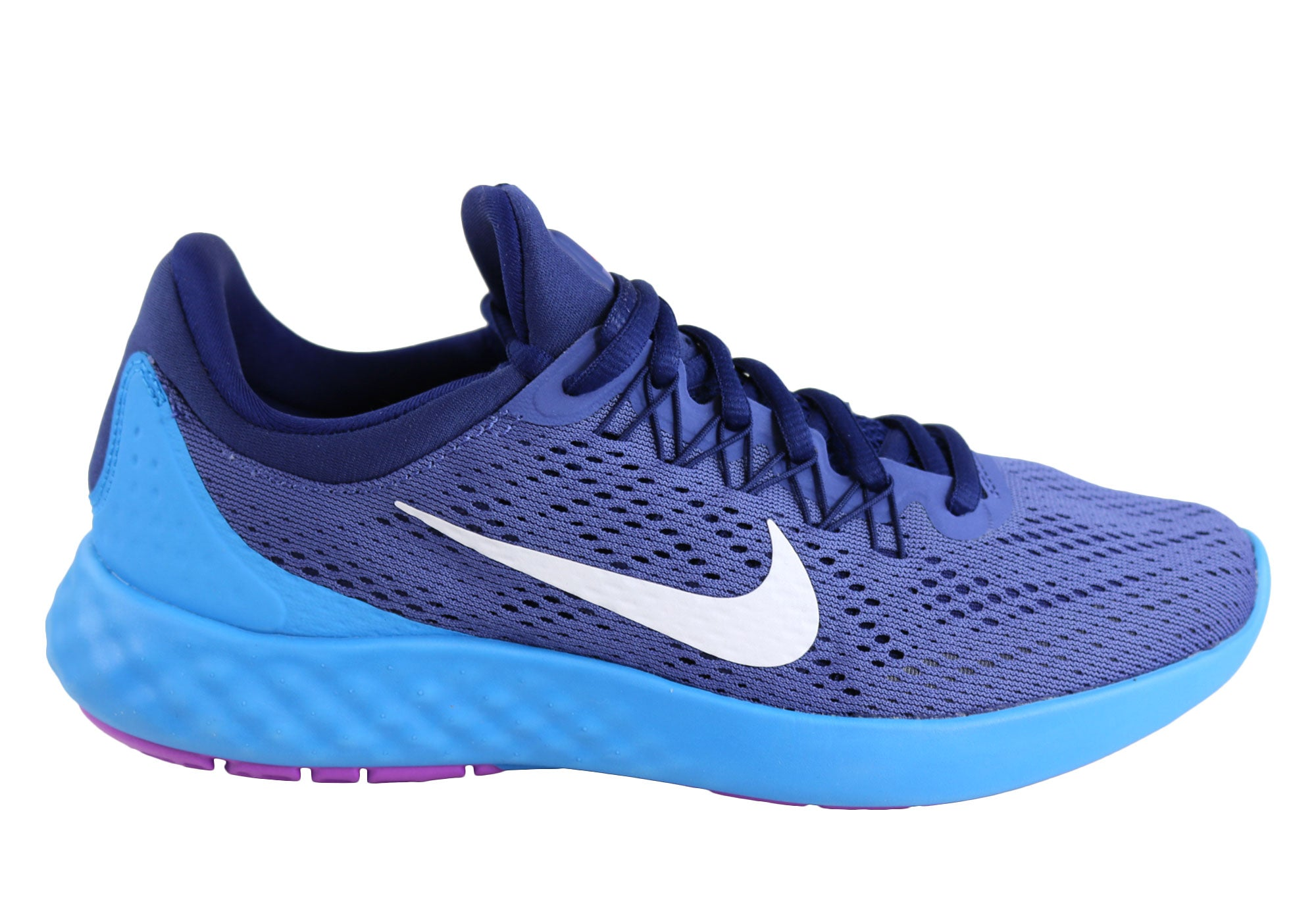 47a22c88f2f34 Home Nike Lunar Skyelux Womens Comfortable Running Sport Shoes. Purple ...