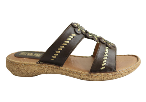 Country Jacks C391 Womens Comfort Sandals MADE IN ITALY