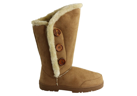 Bellissimo Abbey Womens Warm Fleece Lined Boots
