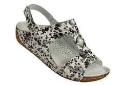 Cabello Comfort 2080 Womens Handmade Leather Sandals
