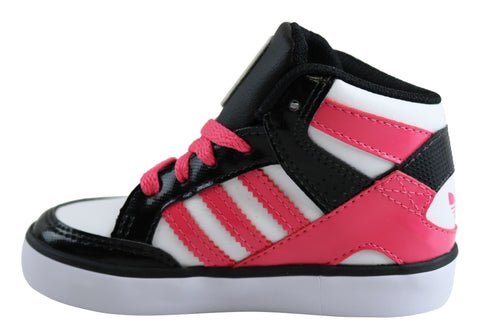 Details about NEW ADIDAS ORIGINALS HARDCOURT BLOCK INFANT KIDS SNEAKERS