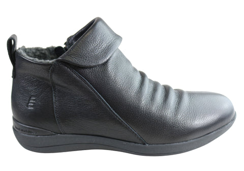 Homyped Glee Womens Comfortable Supportive Leather Ankle Boots