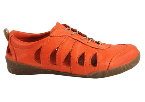 Cabello Comfort 160 Womens Leather Shoes Made In Turkey