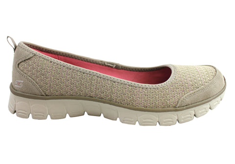 Skechers Womens Ez Flex 3.0 Serene Scene Comfort Shoes