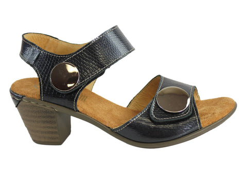 Cabello Comfort 3502 Womens Leather Sandals Made In Portugal