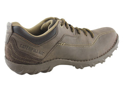 Caterpillar Mens Movement Leather Casual Shoes (Wide Fitting)