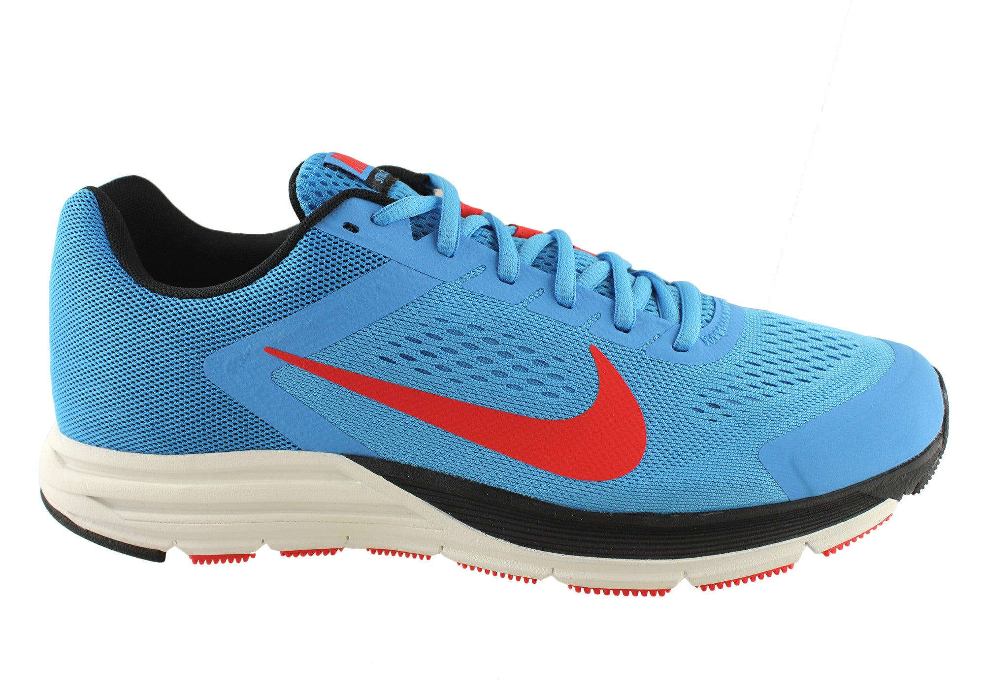 b1e056db5b8b65 Blue Black  Nike Zoom Structure+17 Mens Running Shoes  Nike Zoom ...