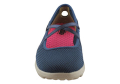 Skechers Womens On The Go Point Mary Jane Shoes