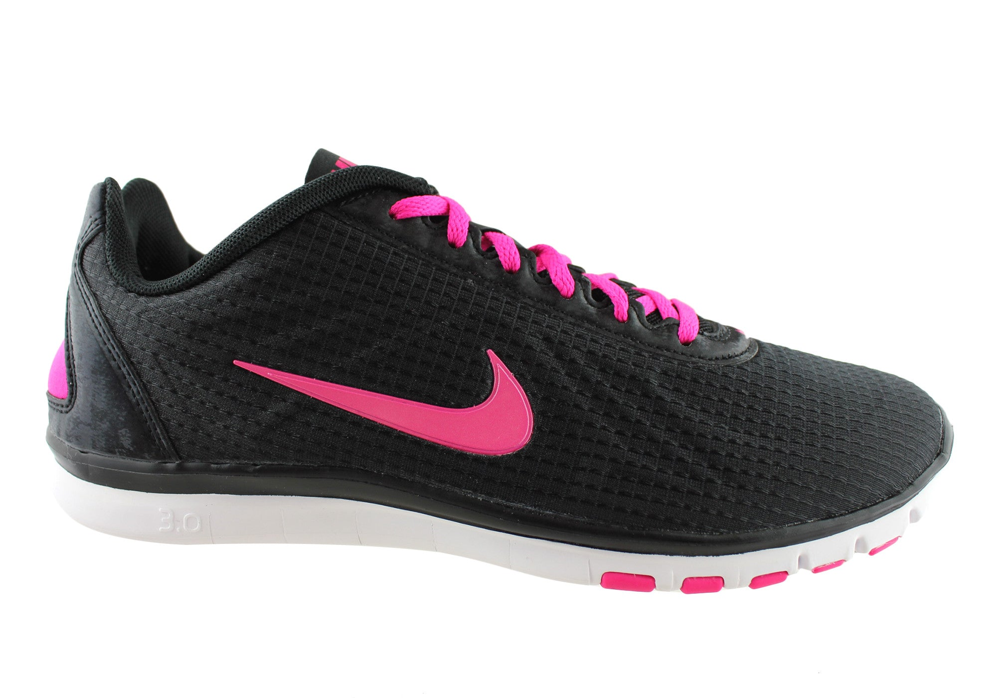 save off 236d9 29dd7 Home Nike Free TR Luxe Tech Womens Comfortable Lace Up Shoes. Black  ...