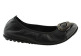 CC Resorts Bunny Womens Soft Leather Ballet Flats