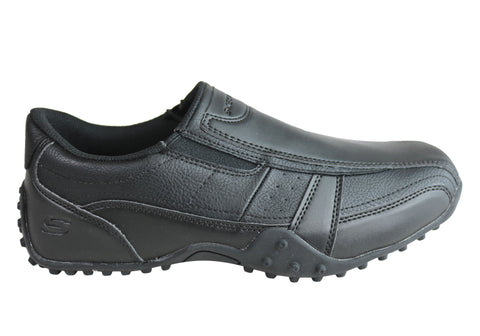 Skechers Mens Relaxed Fit Elston Kasari Slip Resistant Work Shoes