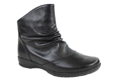 Aerobics Swear Womens Leather Boots Made In Portugal