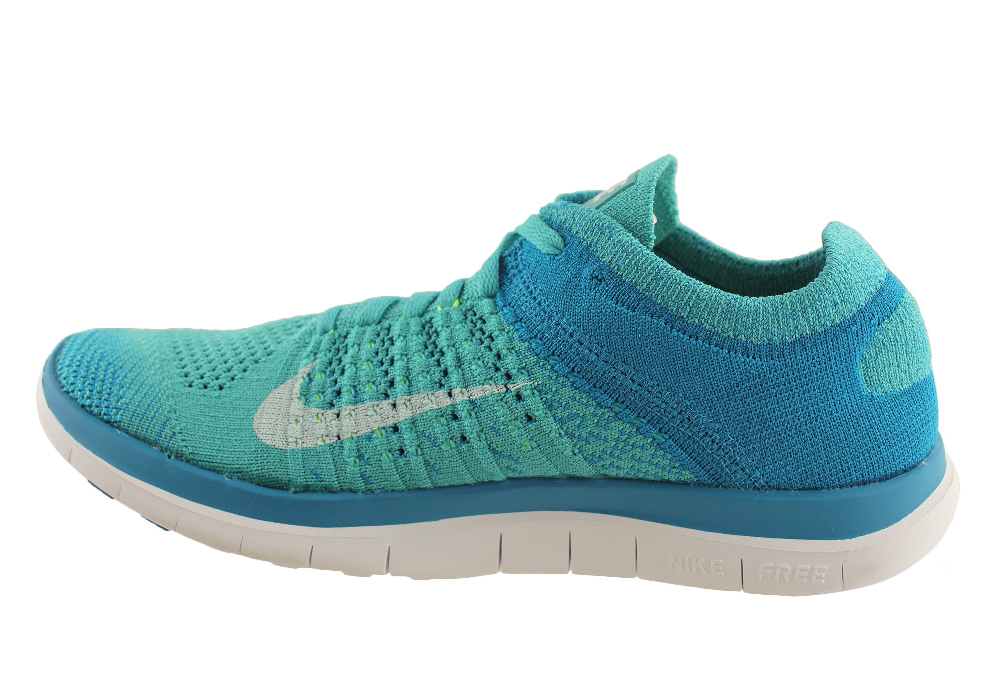 quality design 773fe 8fd5c Nike Free Flyknit 4.0 Womens Lightweight Running Shoes ...