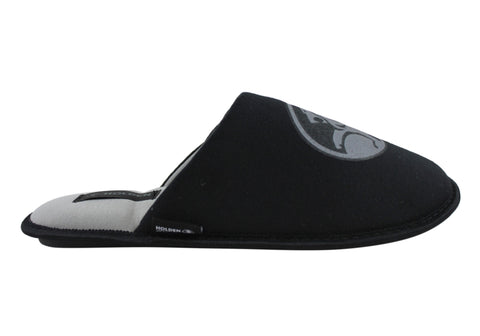 Holden Mens Comfortable Indoor Open Back Close Toe Slipper