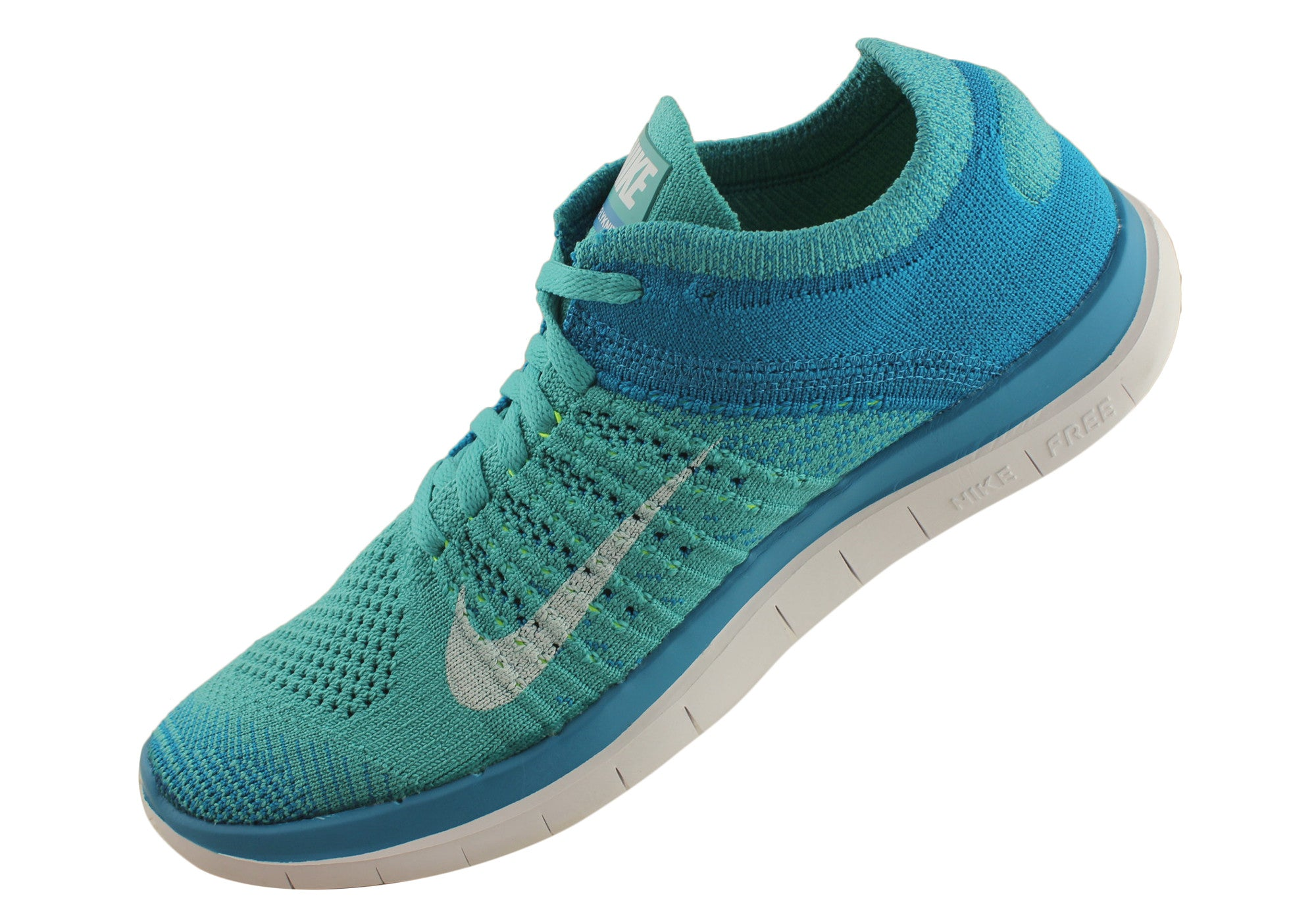 3dad8907b8cf9 Nike Free Flyknit 4.0 Womens Lightweight Running Shoes