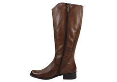Gino Ventori Elate Womens Leather Knee High Boots