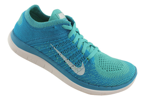 649e8b5b020 Nike Free Flyknit 4.0 Womens Lightweight Running Shoes