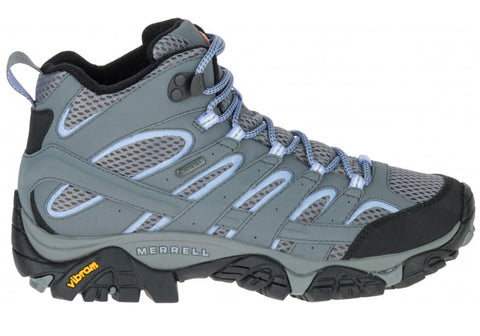 Merrell Womens Moab 2 Mid GTX Comfortable Hiking Shoes