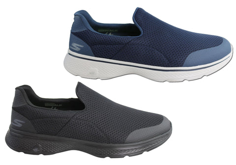 12dee876a4eb Skechers Go Walk 4 Incredible Mens Comfortable Casual Slip On Shoes ...