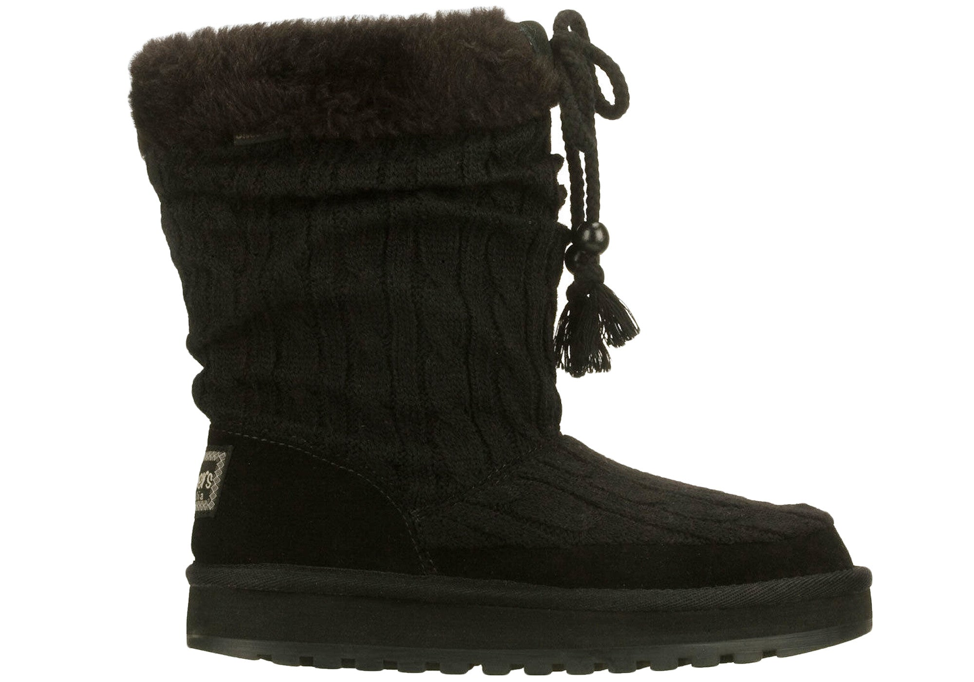 Skechers Keepsakes Blur Womens UGG/Warm Ankle Boots