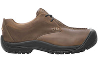 Keen Boston III Mens Comfortable Leather Lace Up Shoes