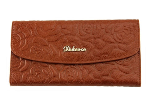 Dekerce Fold Womens Leather Wallet