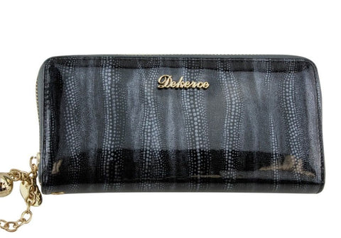 Dekerce Snake Womens Leather Wallet