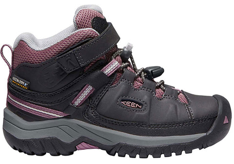 Keen Targhee Mid WP Kids Girls Comfortable Durable Boots Shoes