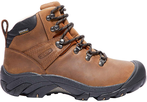 Keen Pyrenees Mid Womens Comfortable Leather Lace Up Boots