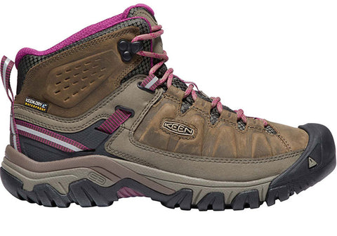 Keen Womens Targhee III Mid Comfortable Waterproof Hiking Boots