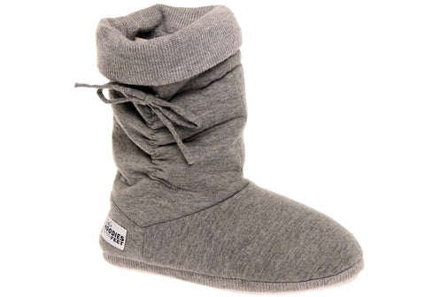 Grosby Hoodie Womens Indoor Booties/Slippers