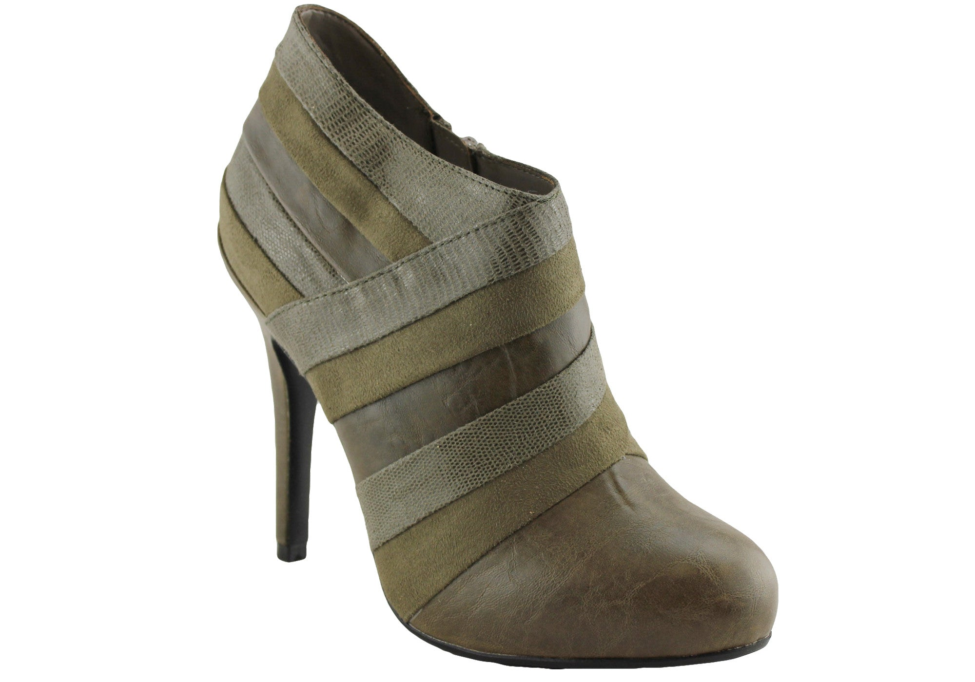 Isabella Brown Cadette Womens Ankle Boots