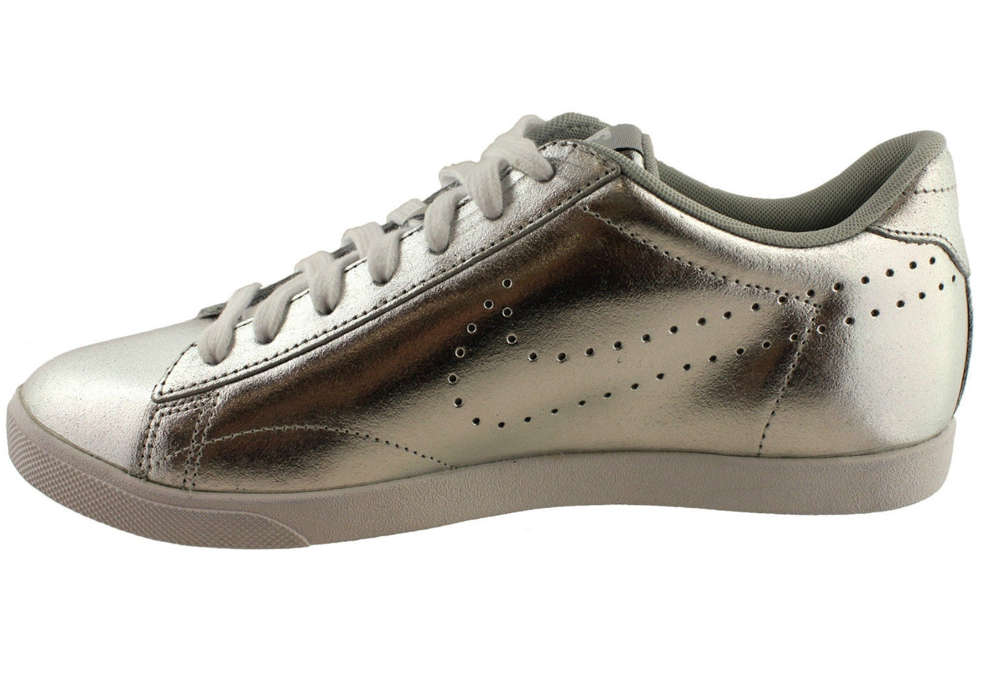 Nike Womens Racquette Leather Comfortable Lace Up Casual