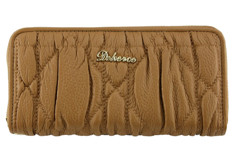 Dekerce Plush Pattern Womens Leather Wallet