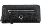 Dekerce Zip Womens Leather Wallet
