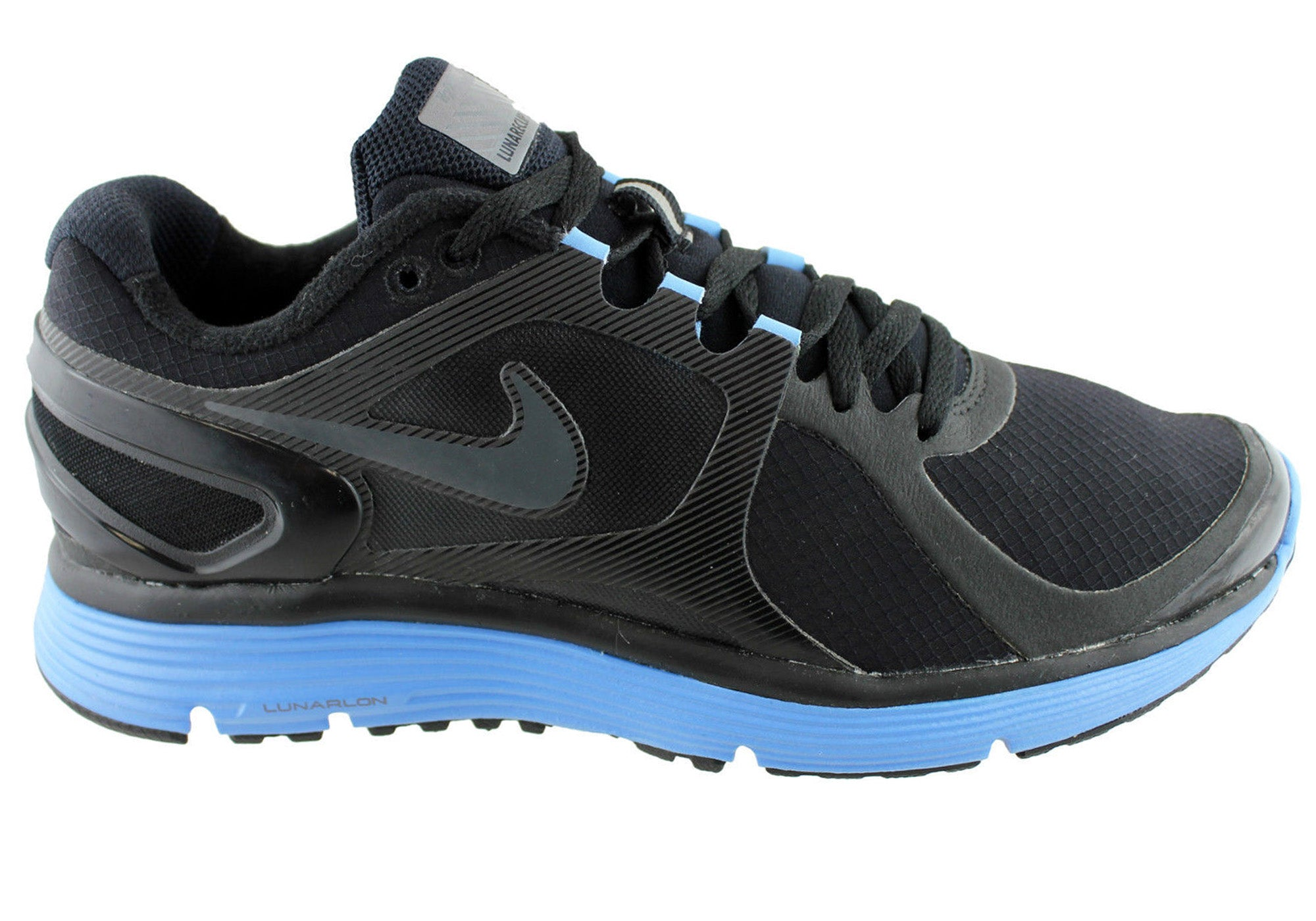 new style a3ed6 1f7bc Nike Womens Lunareclipse 2 Shield Running Cushioned Sport Shoes ...